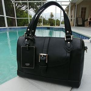 Coach Charlie Jesse black mini satchel 31689